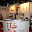 Una visuale dello stand di TTS Italia