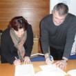 Olga Landolfi, Segretario Generale TTS Italia e Christophe Nicodème, Segretario Generale ERF