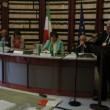 Da sinistra: Ezio Castagna, CLUB Italia; Elisa Boscherini, ANFIA; Morena Pivetti; Severino Briccarello, UNRAE; Rodolfo De Dominicis, UIRNet