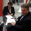 Il Segretario Generale di TTS Italia, Olga Landolfi e il Segretario Generale di ITS Malta, Alex Borg