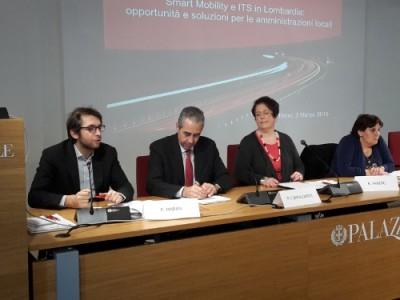 Da sinistra: Ass. Pierfrancesco Maran, Comune Milano; Ass. Paolo Confalonieri, Comune Monza; Rossella Panero, Presidente TTS Italia