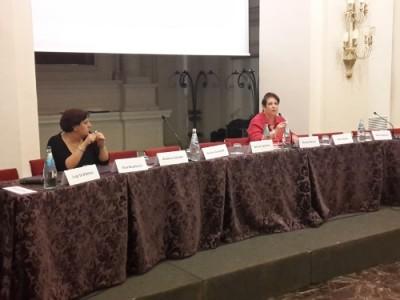 Da sinistra: Olga Landolfi, Segretario Genrale TTS Italia; Rossella Panero, Presidente TTS Italia