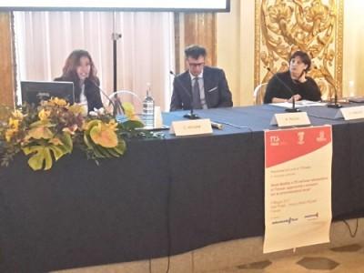 da sinistra: Carla Messina, Massimiliano Pescini, Olga Landolfi