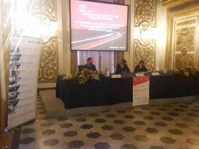da sinistra: Alessio Farlorni, Massimiliano Pescini, Olga Landolfi