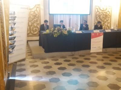 da sinistra: Vincenzo Tartaglia, Jurgen Assfalg, Massimiliano Pescini, Olga Landolfi