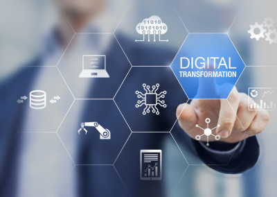 Digital transformation technology strategy, digitization and dig