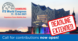 Hamburg ITS World Congress_Call for Contributions_Deadline extended