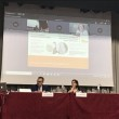 Johanna Tzanidaki, ERTICO (da remoto); da sinistra, Mohamed Mezghani, UITP; Olga Landolfi, TTS Italia